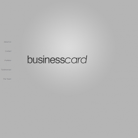 WordPress Šablona BusinessCard