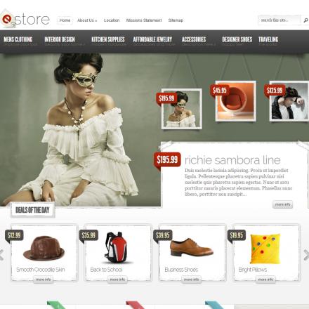 WordPress Šablona eStore